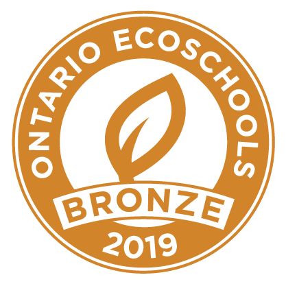 Bronze EcoSchools Certification 2019